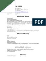 Finance a - All CVs
