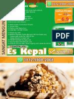 UNTUNG BERLIPAT LIPAT GANDA, WA 0812-9908-2068, Franchise Opportunities Es Kepal Asli