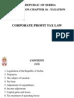 Corporate Profit Tax Law