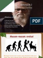 macam-macam evolusi