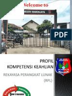 Presentasi Program Keahlian RPL SMKN Manonjaya