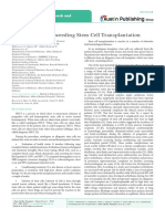 Journal of Stem Cell Research and Transplantation