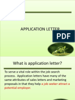 3. Aplication Letter