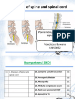 Franciscus - DISEASES OF SPINE & SPINAL CORD.pptx