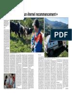 """""""L'agriculture est un éternel recommencement"""""""