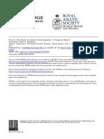ROBINSON_The Study of Islamic Historiography_A Progress Report