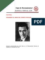Forjando el arma del Frente Popular - Jose diaz.pdf