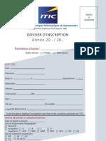 51 Sous Dossier d Inscription ITIC