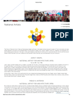 National Artists