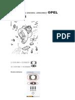 Estudio Composición JTC en Motores Z30DT, Y30DT