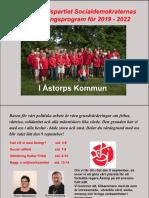 Handlingsprogram för Åstorps kommun