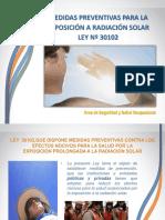 Protección Solar en El Trabajo