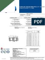 Codo 11º FD Para Tubo PVC-O