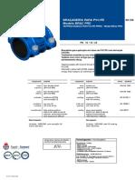 Collar de Toma-salida Rosca FD Para Tubo PVC-O