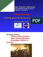 Intro Astrobiology MargaretRace
