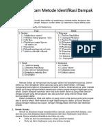 41115110144 - Prasetyo Kristiawan - Metode Identifikasi Dampak