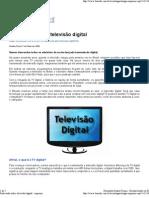 Saiba tudo sobre televisão digital