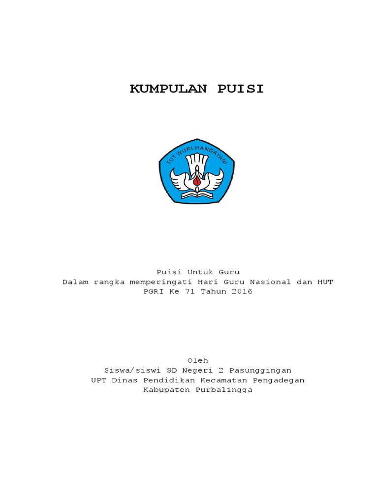 Cover Puisi
