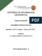 Instrucciones Documento Proyecto Sig