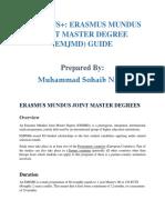 EMJMD Application Guide