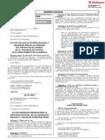 Ley que establece medidas para la descarga procesal en los despachos fiscales y judiciales en materia penal