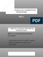 BPO1 Chapter 3 Source of Competitive Advantage