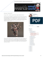 Sproket's Small World_ Project P30 - Death Guard Chaos Space Marine Part 3