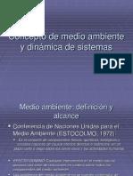 Concepto de Medio Ambiente y Dinamica de Sistemas