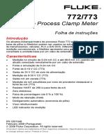 FLUKE - Alicate Amp Processo 772
