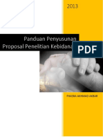 Panduan Proposal Penelitian