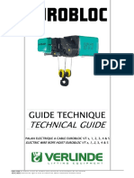 Technical Guide Electric Wire Rope Hoist EUROBLOC VT000