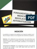 Fundamentos de Medición, Regulación y Automatizacion I-2017