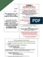 Foundation Identity Documents Flowchart