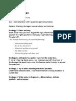 Listening Summary (TOEFL iBT)