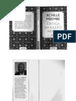 A Crítica Da Razão Negra Achille Mbembe