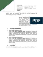 demanda nulidad de acto juridico + filiacion