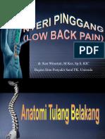 3. Low Back Pain (Dr. Ken)