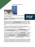 Gobierno de Serrano Elias