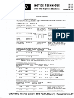 Grundig RC 113 Service Manual