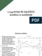 Diagramas de Equilíbrio Eutético e Eutetóide (1)