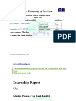 288919863 MCB Bank Related Assignment