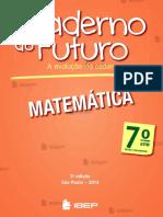 Caderno Do Futuro - Mat - 7 Ano