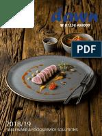 Tableware 2018
