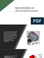 1.1.- Generalidades en Motores de Corriente Directa