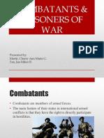 Combatants & Prisoners of War