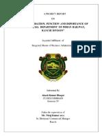 Railway Internship Report