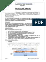 Protocolo Rip Versión 1