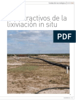Lixiv. in Situ Pinto Valley 50000 Tm CuPA