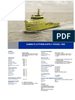 Platform Supply Vessel 1600 DS