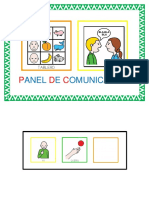 Panel Comunicacion Sala